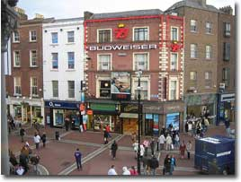 Shopping in Grafton Street